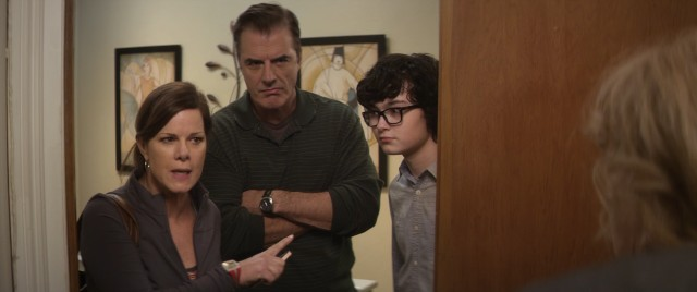 Fred's daughter (Marcia Gay Harden), son-in-law (Chris Noth), and grandson (Jared Gilman) have minor presence in supporting roles.