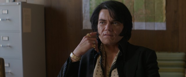 "With very little resemblance, Michael Shannon plays Elvis Presley in ""Elvis & Nixon."""