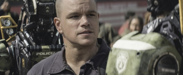 "The troubled Max (Matt Damon) isn't ready to die in ""Elysium."""