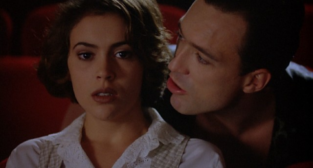 "The 1995 film ""Embrace of the Vampire"" finds college freshman Charlotte Wells (Alyssa Milano) being stalked by a vampire (Martin Kemp) with three days to avoid eternal rest."