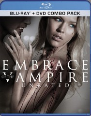 Embrace of the Vampire (2013) Blu-ray + DVD Combo Pack cover art -- click to buy from Amazon.com