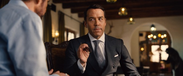 Vincent's short-tempered agent turned studio head Ari Gold (Jeremy Piven) feels like he's in a movie of his own.
