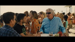 Gary Busey drinks and acts weird in some of the extended party scene bits that didn't make it into the film.