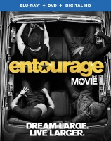 Entourage: The Movie Blu-ray + DVD + Digital HD combo pack cover art - click to buy from Amazon.com