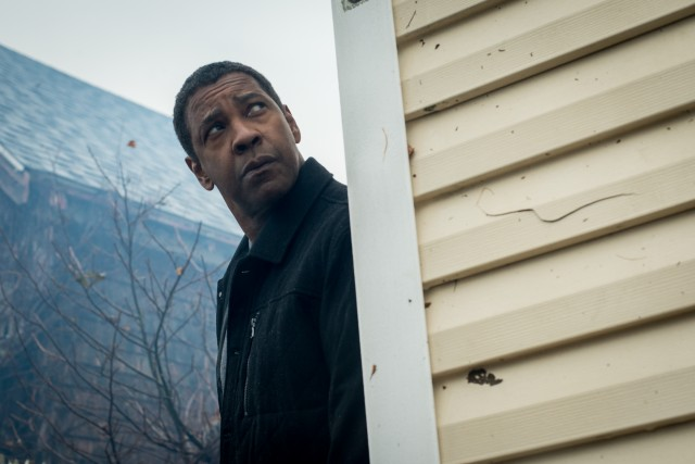"Any goodwill ""The Equalizer 2"" develops dissolves in an improbable, prolonged climax that pits Robert McCall (Denzel Washington) against multiple adversaries in a hurricane."