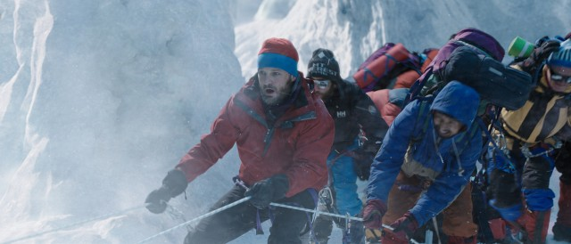 Jason Clarke plays Rob Hall, the New Zealander who leads an international group of clients to the summit of Mount Everest.
