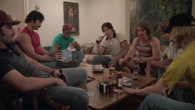 "The bros of ""Everybody Wants Some!!"" play a card game with rules they make up as they go along."