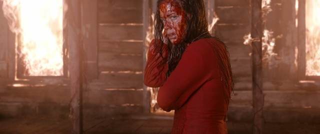 "Most of the evil in 2013's ""Evil Dead"" is channeled through Mia (Jane Levy)."