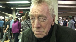 "Second oldest Oscar-nominated actor Max von Sydow, seen here in a Grand Central subway station, is the focus of his son Cedric's documentary ""Dialogues with Renter."""