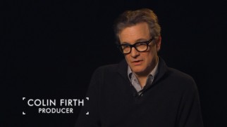 Colin Firth may not appear in the film, but as a producer he shows up in the making-of shorts.
