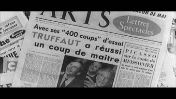"""400 coups"" is kind of a big deal is the point being made in the film's French theatrical trailer."