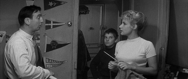 "The parents (Albert Rémy and Claire Maurier) of Antoine Doinel (Jean-Pierre Léaud) aren't sure what to do with him in François Truffaut's ""The 400 Blows."""