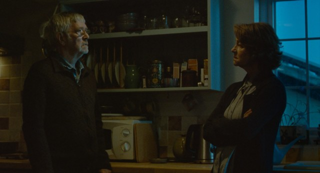 "Long-married couple Geoff (Tom Courtenay) and Kate Mercer (Charlotte Rampling) face some upsetting news in ""45 Years."""