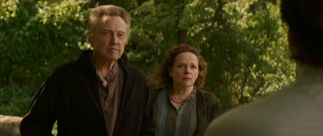 Christopher Walken and Maryann Plunkett play the Fang parents in the present day.