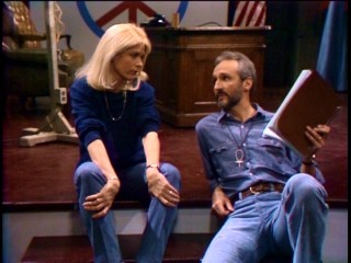 As before, Steven's (Michael Gross) autobiographical play puts stress on his marriage to Elyse (Meredith Baxter Birney).