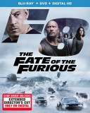 The Fate of the Furious (Blu-ray + DVD + Digital HD) - July 11