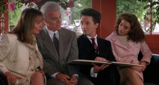Martin Short steals scenes as eccentric wedding coordinator Franck Eggelhoffer, whose European accent eludes only George.
