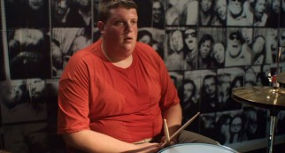 "Troy Billings (Jacob Wysocki) is a suicidal teen who takes up drumming in ""Fat Kid Rules the World."""