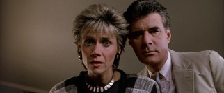 Mr. and Mrs. Bueller (Lyman Ward and Cindy Pickett) do not doubt that their Ferris is a very sick boy.