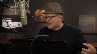 "Albert Brooks, reprising the original film's protagonist Marlin, is seen recording lines in ""Animation Acting."""