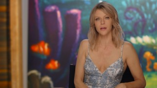 "Kaitlin Olson, the voice of Destiny, shares a fact about whale sharks in ""Creature Features."""