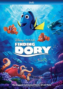 Finding Dory DVD cover art