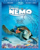Finding Nemo: Collector's Edition (Blu-ray + DVD) combo pack cover art -- click to buy from Amazon.com
