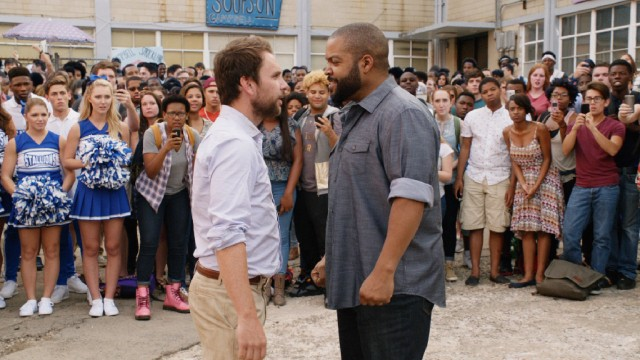 "All of ""Fist Fight"" leads up to the titular afterschool parking lot bout between Andy (Charlie Day) and Strickland (Ice Cube)."