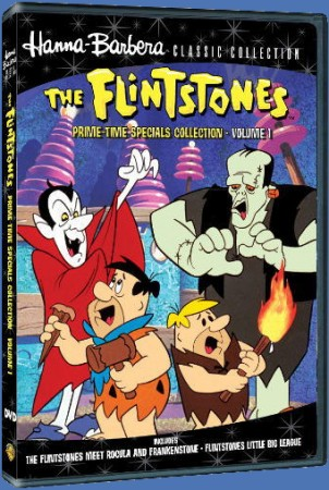 The Flintstones: Prime-Time Specials Collection, Volume 1 DVD cover art - click to buy exclusively from WBShop.com