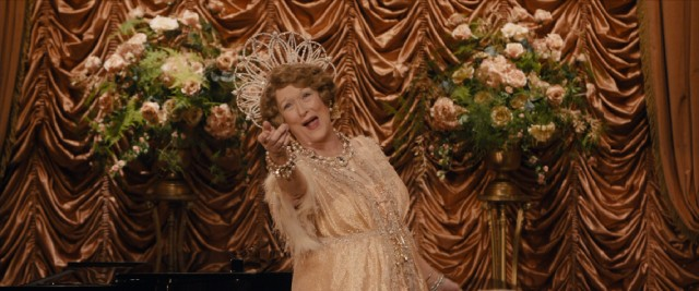 "Meryl Streep plays Florence Foster Jenkins, an opera singer who can't sing in the one-joke comedy ""Florence Foster Jenkins."""