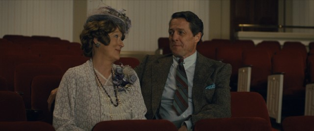 Florence Foster Jenkins (Meryl Streep) and her longtime husband St. Clair Bayfield (Hugh Grant) have an understanding in their marriage.