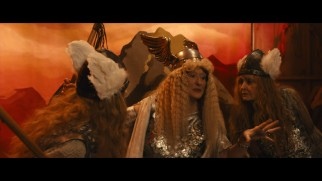 Dressed in her Ride of the Valkyries regalia, Florence Foster Jenkins (Meryl Streep) handles some backstage drama in this deleted scene.