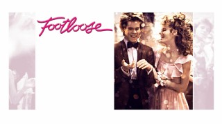 "The static ""Footloose"" Blu-ray menu screen is kinda girly."