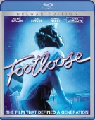 Footloose: Deluxe Edition Blu-ray cover art - click to buy from Amazon.com