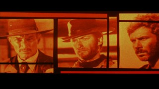 The film's three leads get tinted red in the longer of the film's two original theatrical trailers.