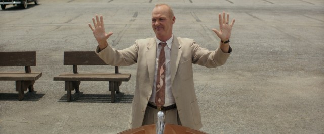 """The Founder"" stars Michael Keaton as Ray Kroc, the ""founder"" of McDonald's restaurants."
