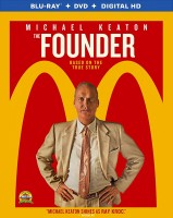 The Founder: Blu-ray + DVD + Digital HD combo pack cover art -- click to buy from Amazon.com