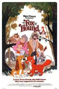 The Fox and the Hound (1981) movie poster