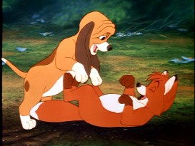 Still from The Fox and the Hound: 25th Anniversary DVD - click to view screencap in full 720 x 480.