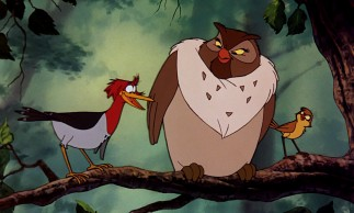 Boomer the woodpecker and Dinky the finch do not rank among Disney's most memorable side characters, but owl Big Mama fares a little better.