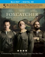Foxcatcher Blu-ray Disc cover art -- click to buy from Amazon.com