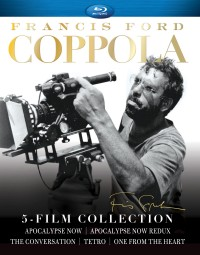 Francis Ford Coppola: 5-Film Collection Blu-ray cover art -- click to buy from Amazon.com