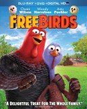 Free Birds: Blu-ray + DVD + Digital HD UltraViolet combo pack cover art -- click to buy from Amazon.com