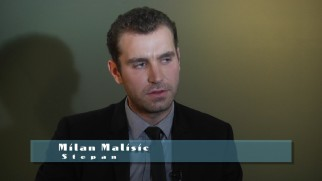 "Milan Malisic is one of several cast and crew members who oddly fill what is called ""Director Mikael Salomon Interview."""