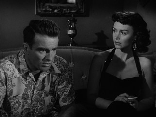 Private Prewitt (Montgomery Clift) takes great interest in working girl Lorene (an Oscar-winning Donna Reed).