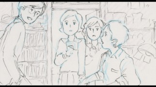 "Per Studio Ghibli tradition, the entirety of ""From Up on Poppy Hill"" is presented in storyboard form, should you care."