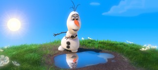 Olaf the snowman's understanding of summer is not without some blissful ignorance.
