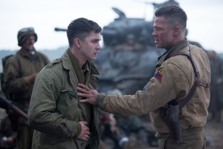 "Sergeant Don ""Wardaddy"" Collier (Brad Pitt) pushes his undertrained newest recruit Norman Ellison (Logan Lerman) into the demands of war."
