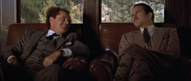 "Jack Nicholson and Warren Beatty play 1920s scam artists determined to circumvent the Mann Act in the 1975 comedy ""The Fortune."""