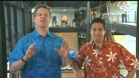 In their Introduction, Andrew Stanton and Lee Unkrich welcome you to the Finding Nemo DVD.